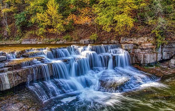 Lower Taughannock Falls  Photography Art   Nelson Rudiak Photography