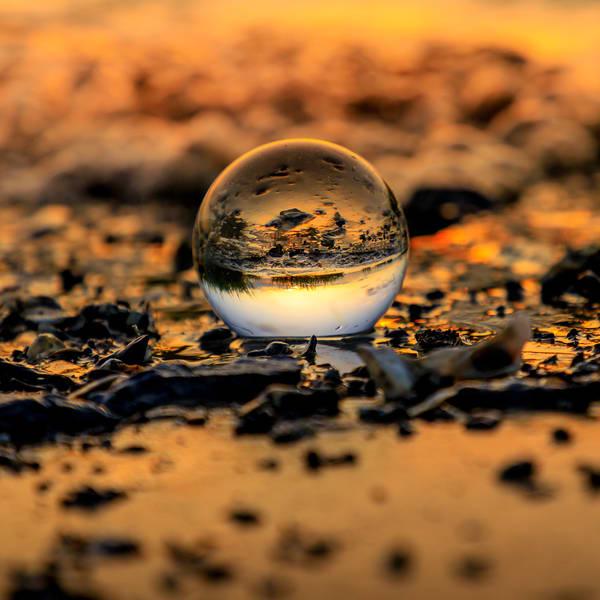 Lensball Sunrise 1 2 Photography Art | Willard R Smith Photography