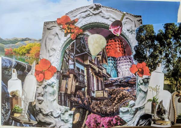Portal To A Neighborhood Art | Andi Garbarino Fine Art