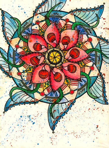 Bubbletoes, Original Artwork Art | Lynne Medsker Art & Photography, LLC