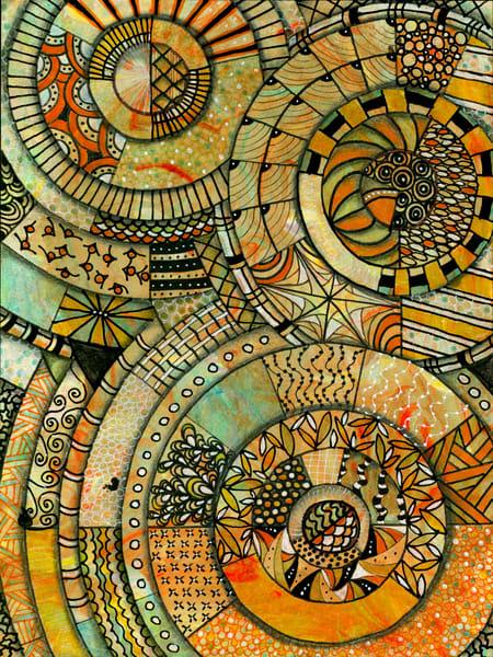 Interrelated, Original Artwork Art | Lynne Medsker Art & Photography, LLC