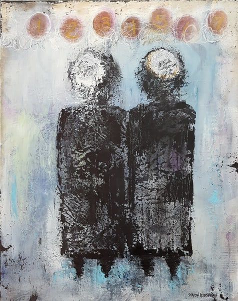 Seven Blessing Jewish Wedding Painting