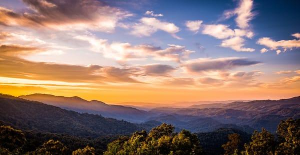 Boone Sunrise  Photography Art | Nelson Rudiak Photography