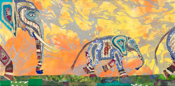 Elephants 1 Art | capeanngiclee