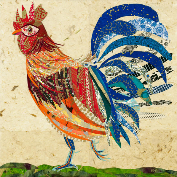 Rooster 1 Art | capeanngiclee