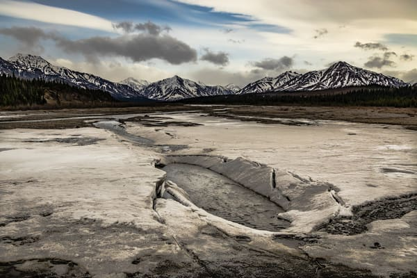 Savage River Thaw Photography Art | Nelson Rudiak Photography