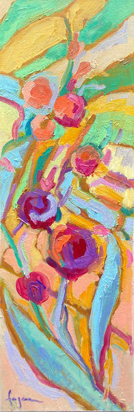 Peony Hopscotch Ii | Dorothy Fagan Joy's Garden