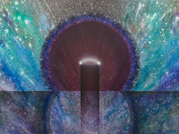 Cosmological Transpersonal Energy - Giclee reproduction of art by David Copson