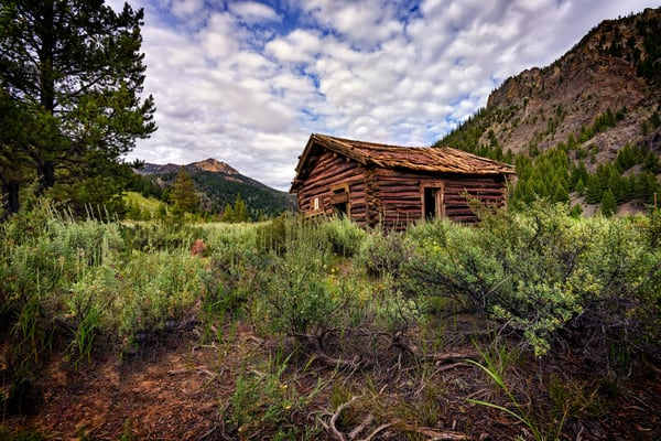 The Old Miner's Cabin | Shop Photography by Rick Berk