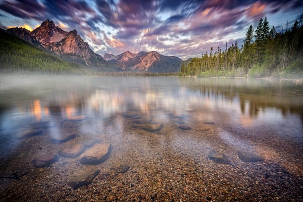 Dawn at Stanley Lake | Shop Photography by Rick Berk
