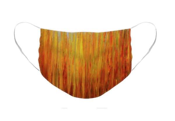 Face Mask Autumnal Rain | Rachel Brask Studio, LLC