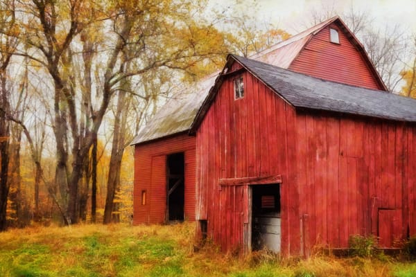 Rustic Barns 1 Photography Art | Quiet Heart Images, LLC