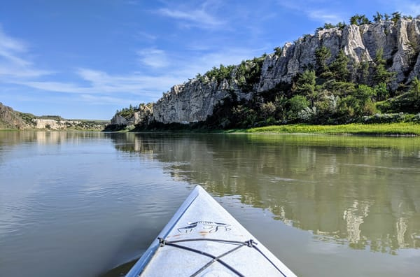 Kayaking The White Cliffs Photography Art | Christopher Scott Photography