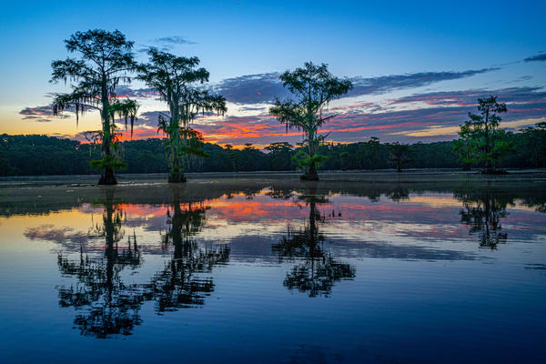 Caddo Sunrise Photography Art | John Martell Photography