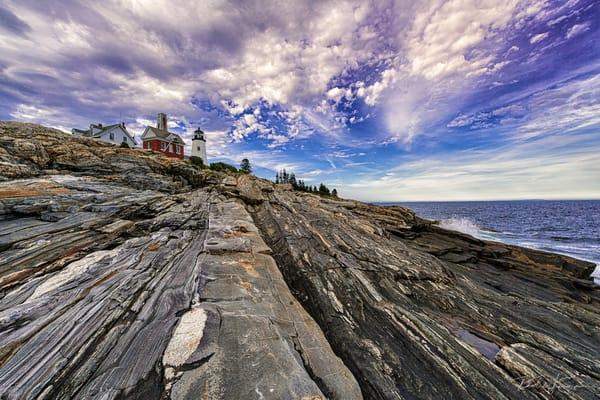 Pemaqid Point Light Photography Art | Richard J Snow Photography