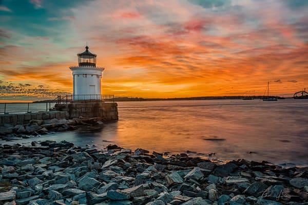 Dawn At Bug Light Photography Art | Richard J Snow Photography