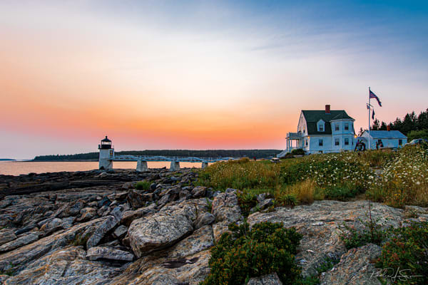 Marshall Point At Dusk Photography Art | Richard J Snow Photography
