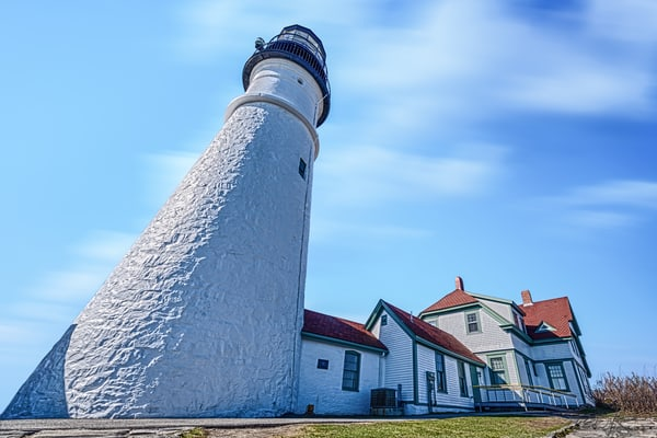 """Perspective""   Portland Head Light Photography Art 
