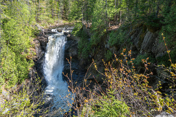 Moxie Falls Photography Art | Richard J Snow Photography
