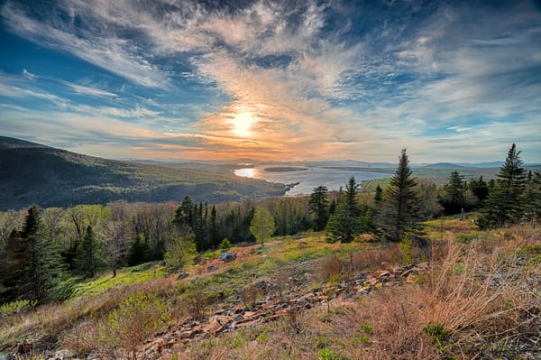 Height Of Land   Before Sunset Photography Art | Richard J Snow Photography
