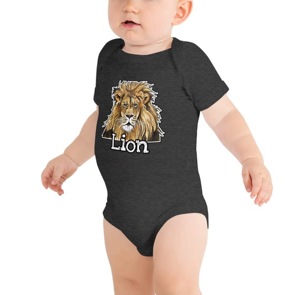 Lion Baby T Shirt | Water+Ink Studios