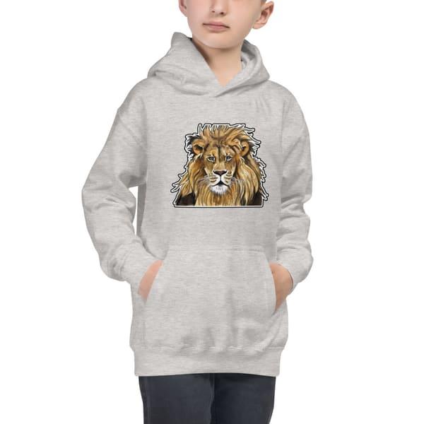 Lion Kids Hoodie | Water+Ink Studios