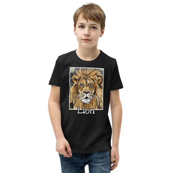 Lion Youth T Shirt | Water+Ink Studios