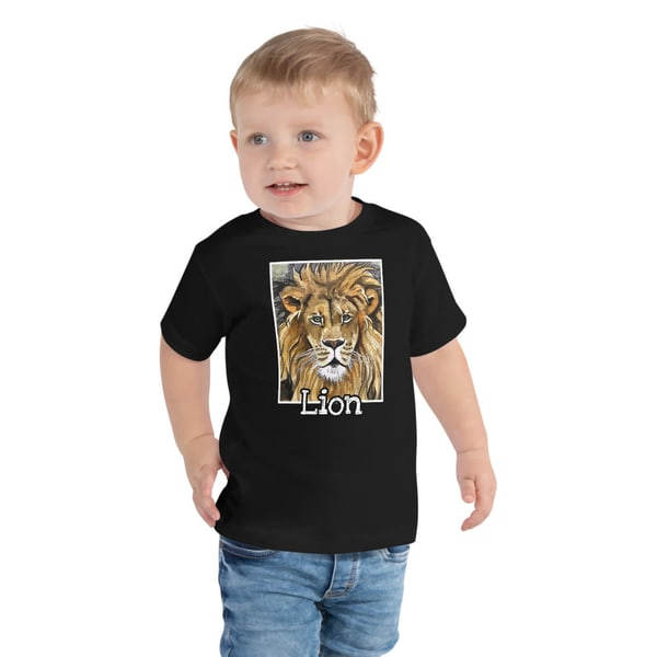 Lion Toddler Shirt | Water+Ink Studios