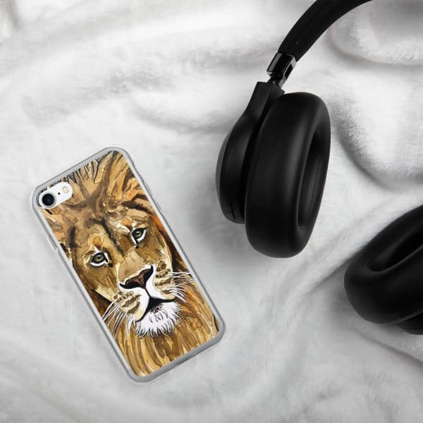 Lion Samsung Phone Case | Water+Ink Studios