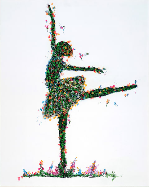 Garden Ballet Art | Hackley Fine Art