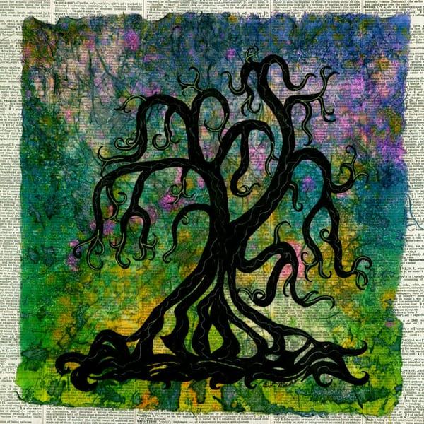 Unruly, Original Artwork Art | Lynne Medsker Art & Photography, LLC