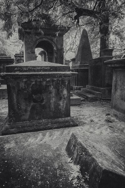South Park Street Cemetery Ii Photography Art | Sudha Photography