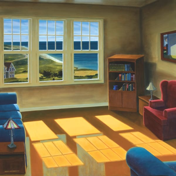 Apartment By The Sea Art   The Art of David Arsenault