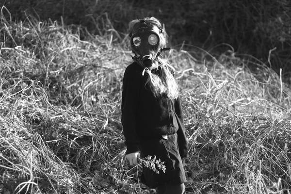 Ashley Caldwell - photography - black and white - flowers - child - Hope