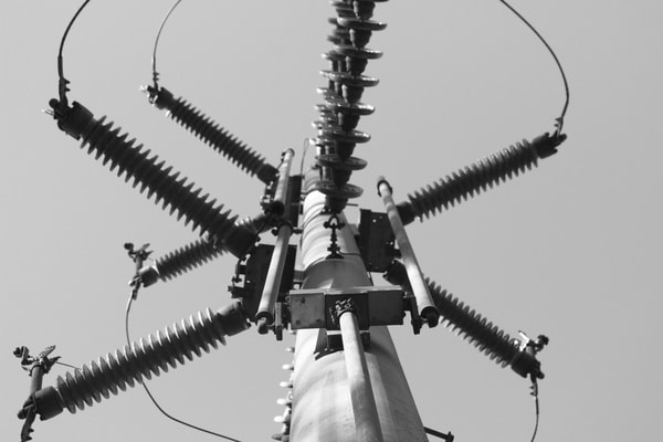 Ashley Caldwell - photography - black and white - abstract - industrial - Electric