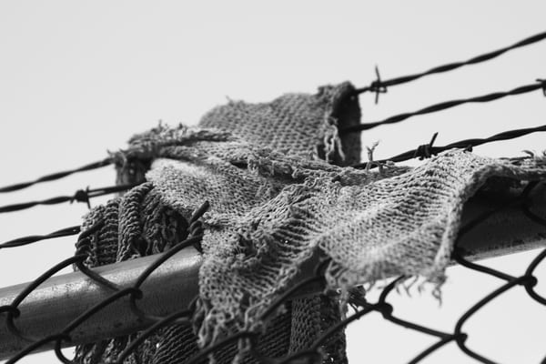 Ashley Caldwell - photography - black and white - Tattered