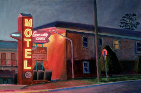 Night On Broadway Art | The Art of David Arsenault