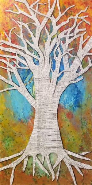 Tranquil Tree, Original Art Art | Lynne Medsker Art & Photography, LLC