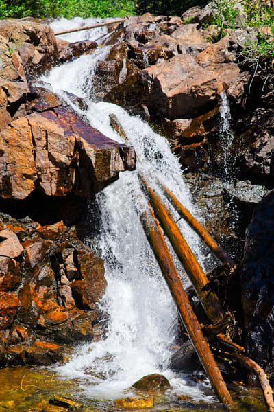 Falls in IPW - A Fine Art Photograph by Marcos R. Quintana