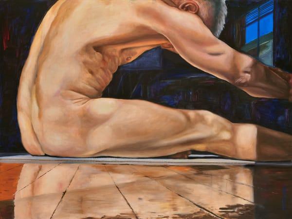 """Reflection""  by artist, Anton Uhl"
