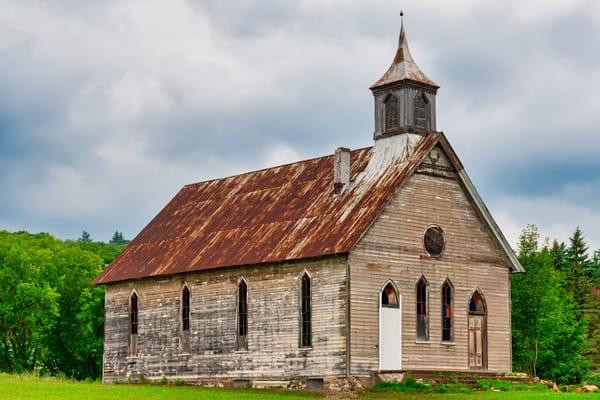 Abandoned Adirondacks Church - New York fine-art photography prints