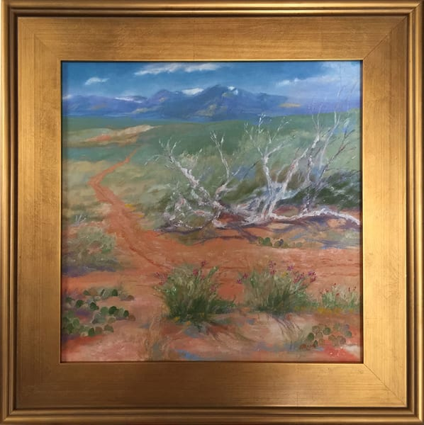 """Spring Storm On The South Rim Of The Rio Grande"" Art 