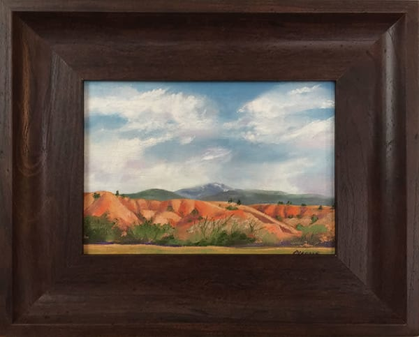 """After The Storm At Ghost Ranch"" Art 