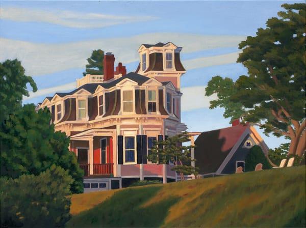 The Mansard Roof Art | The Art of David Arsenault