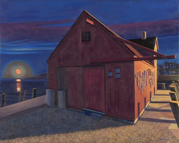 Supermoon And Motif No.1 Art | The Art of David Arsenault