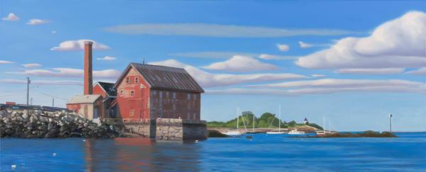 Heading For The Harbor Art   The Art of David Arsenault