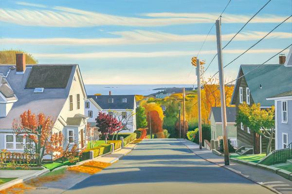 Down Summit Avenue Art   The Art of David Arsenault