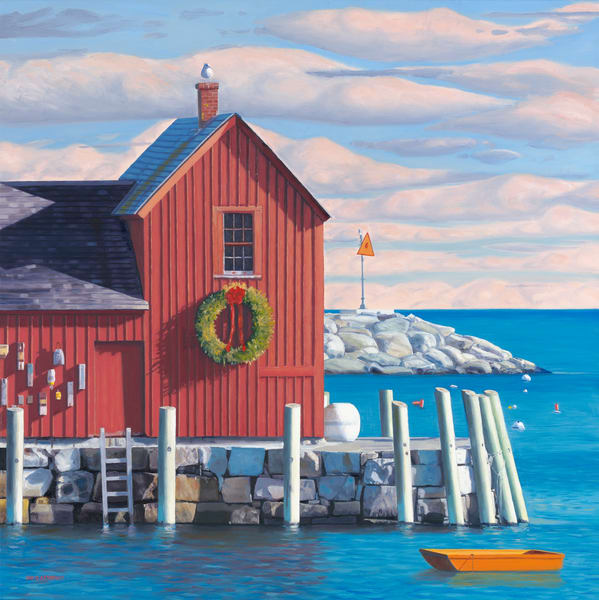 Christmas Motif Art | The Art of David Arsenault