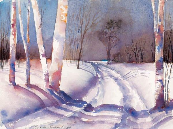 Snowy Road Art | East End Arts