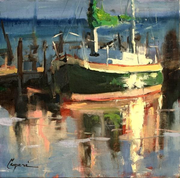 Harbor Sundown Art | robincaspari